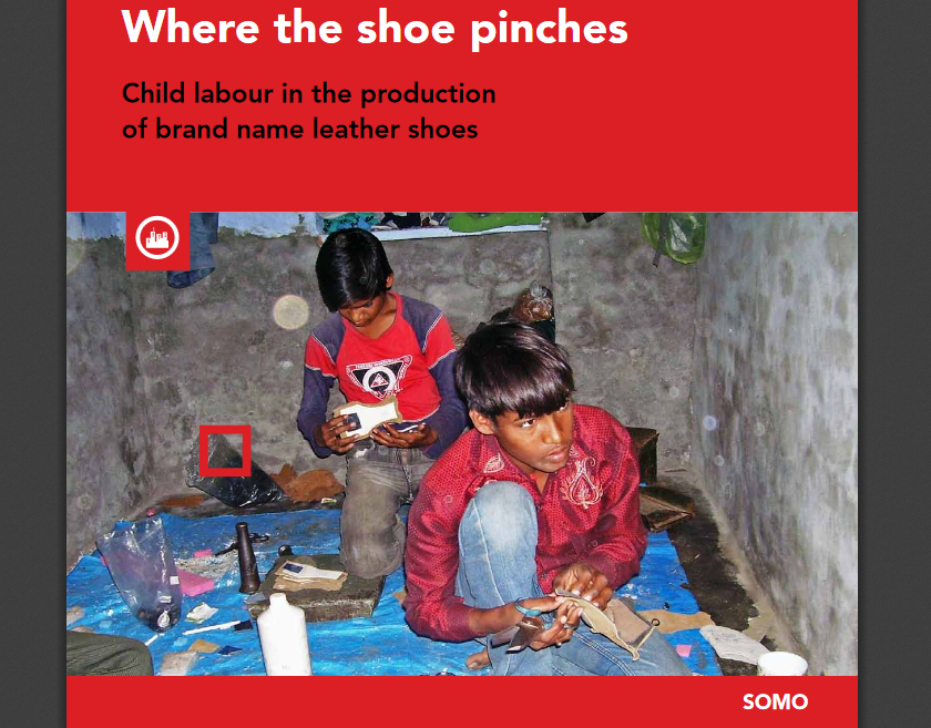 Where the shoe pinches.