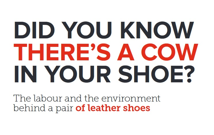DID YOU KNOW THERE'S A COW IN YOUR SHOE?