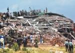 4º aniversario del derrumbe de la fábrica SPECTRUM en Bangladesh