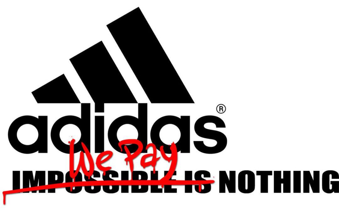 ¡ÚNETE A NUESTRA ACCIÓN MUNDIAL DE FACEBOOK! ¡Dile a Adidas que nada es imposible!