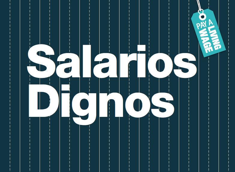 Las marcas todavía están muy lejos de garantizar un salario digno