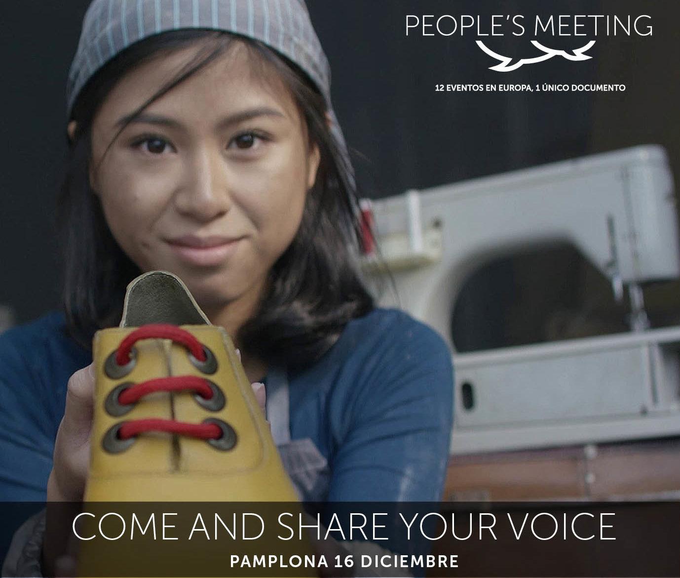 People's Meeting: un encuentro ciudadano sobre políticas comerciales y de desarrollo europeas