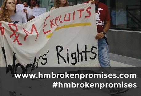 3 de mayo. Día de acción por unas fábricas seguras; las personas que trabajan en las fábricas proveedoras de H&M siguen arriesgando sus vidas