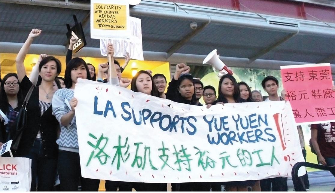 tCambia Tus Zapatos inicia una semana de presión a las marcas de calzado para la liberación de los activistas chinos detenidos
