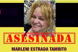 Condenamos el asesinato de la sindicalista guatemalteca Brenda Marleni Estrada Tambito