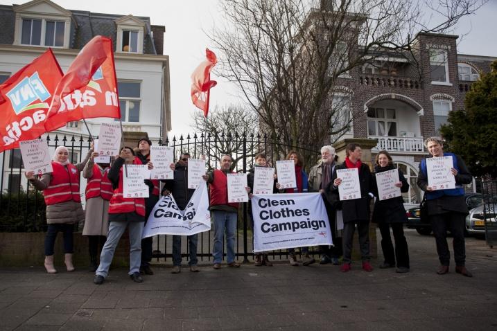 #EveryDayCounts: exigimos la liberación de sindicalistas y activistas encarcelados ante las Embajadas de Bangladesh en Europa. ¡Únete!