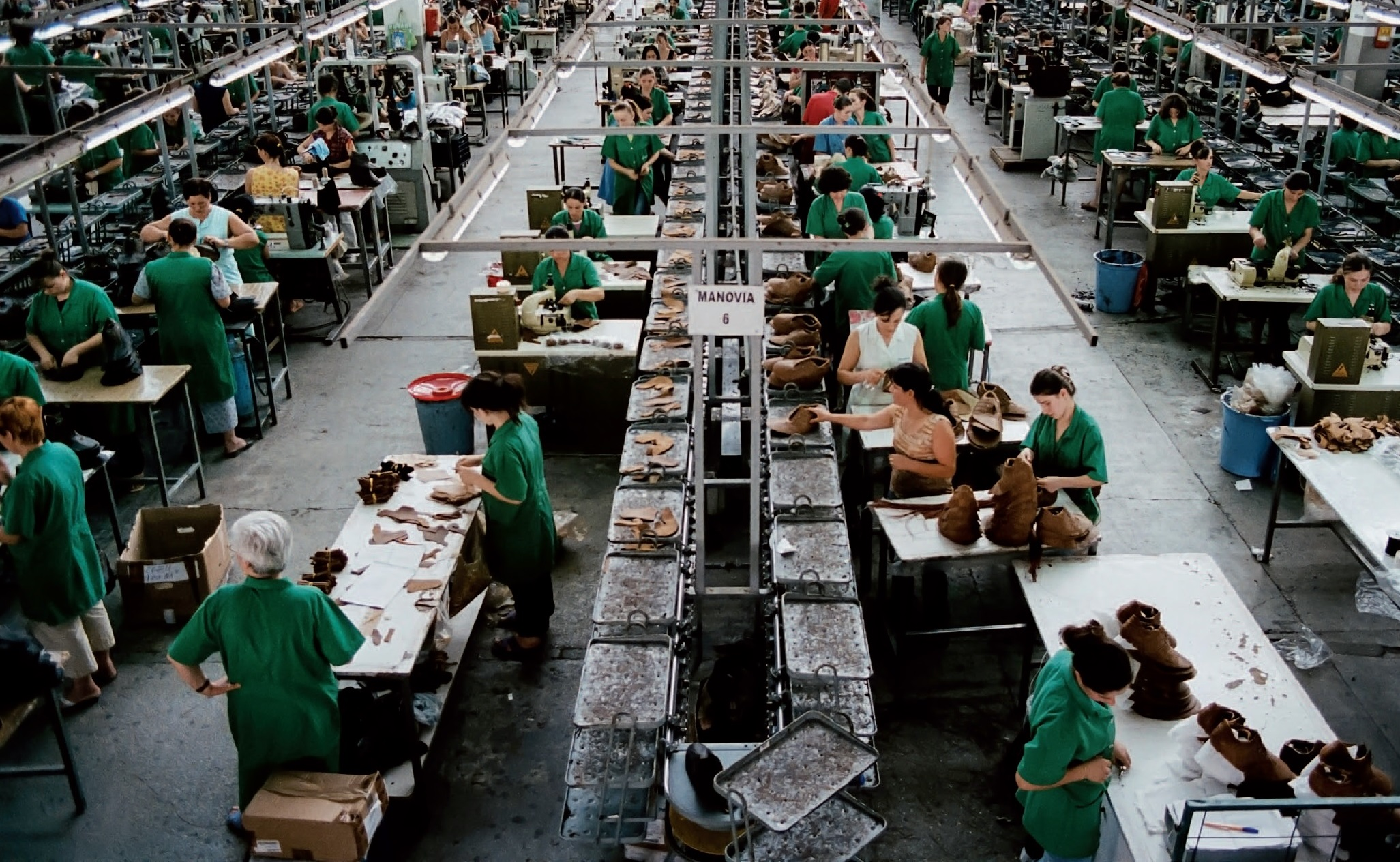 Zapatos 'Made in Europe' se producen por salarios incluso inferiores a los de China
