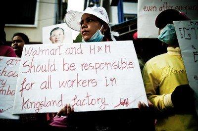 H&M desoye las demandas de las trabajadoras de Kingsland