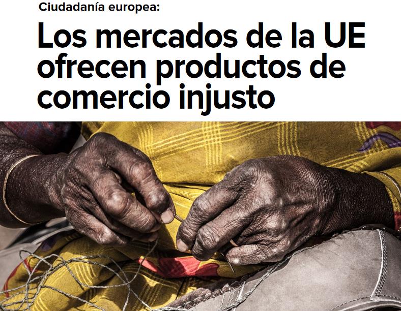 Los mercados de la UE ofrecen productos de comercio injusto