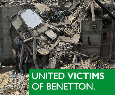 Benetton, ¡basta de falsas promesas!