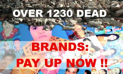 Información: respuestas de las marcas deTazreen y Rana Plaza sobre las compensaciones