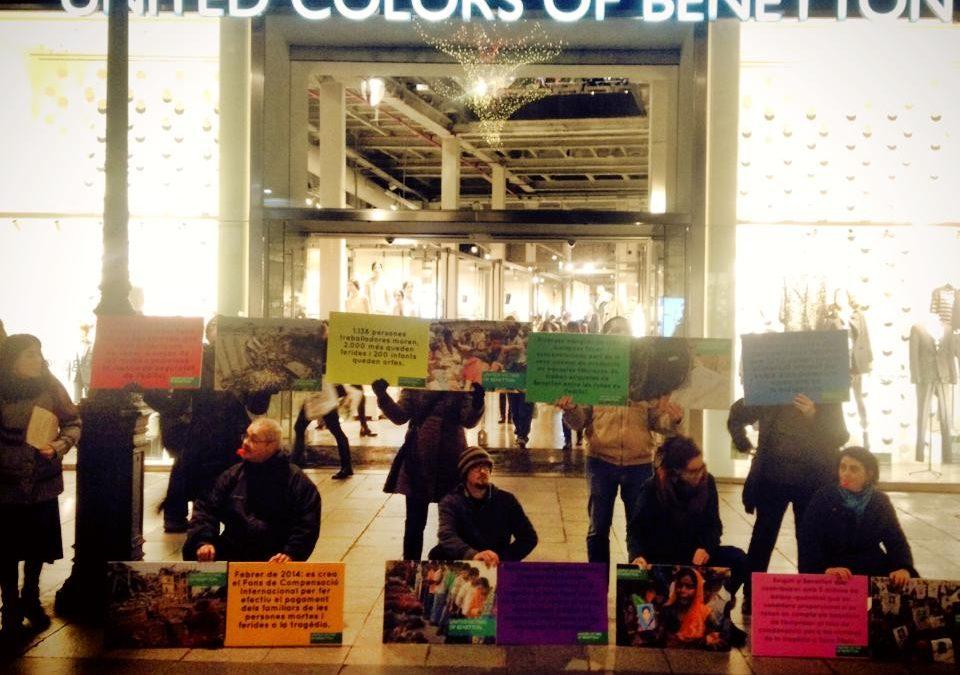 Llamamiento internacional a Benetton con ocasión del Día Internacional de los Derechos Humanos