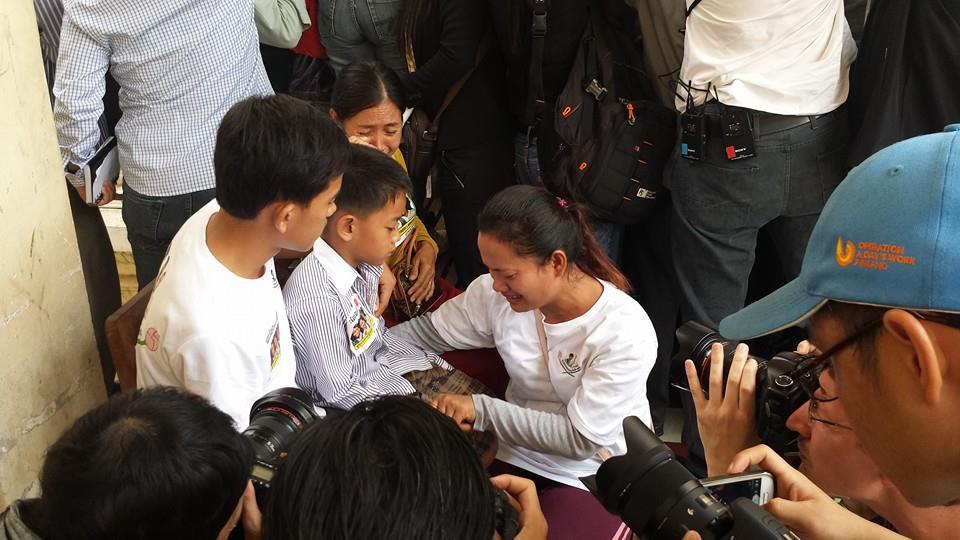 Carta de Vorn Pao, activista encarcelado por protestas salariales en Camboya