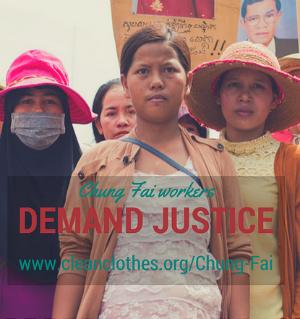 Marks&Spencer: paga lo que debes a las trabajadoras de Chung Fai, Camboya