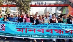 Los sindicatos y la Campaña Ropa Limpia exigen una revisión del acuerdo comercial entre Europa y Bangladesh tras la oleada de represión