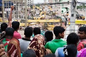 Rana Plaza, 3 años después continuamos exigiendo justicia y mejoras de seguridad en las fábricas de Bangladesh.