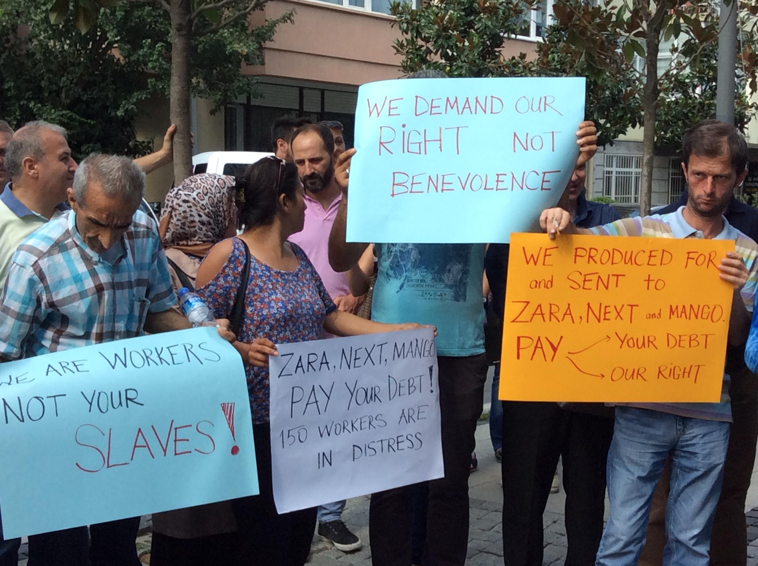 Zara, Mango y Next en el punto de mira por dejar sin salarios a 140 personas trabajadoras en Turquía