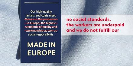 Un informe relaciona la etiqueta 'Made in Europe' con maquilas de calzado y ropa en suelo europeo