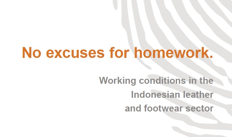 REPORT: NO EXCUSES FOR HOMEWORK