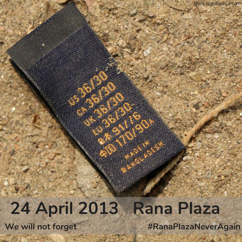 La Campaña Ropa Limpia conmemora el quinto aniversario del desastre del Rana Plaza y reclama mayores compromisos para lograr cambios significativos en la industria de la confección.