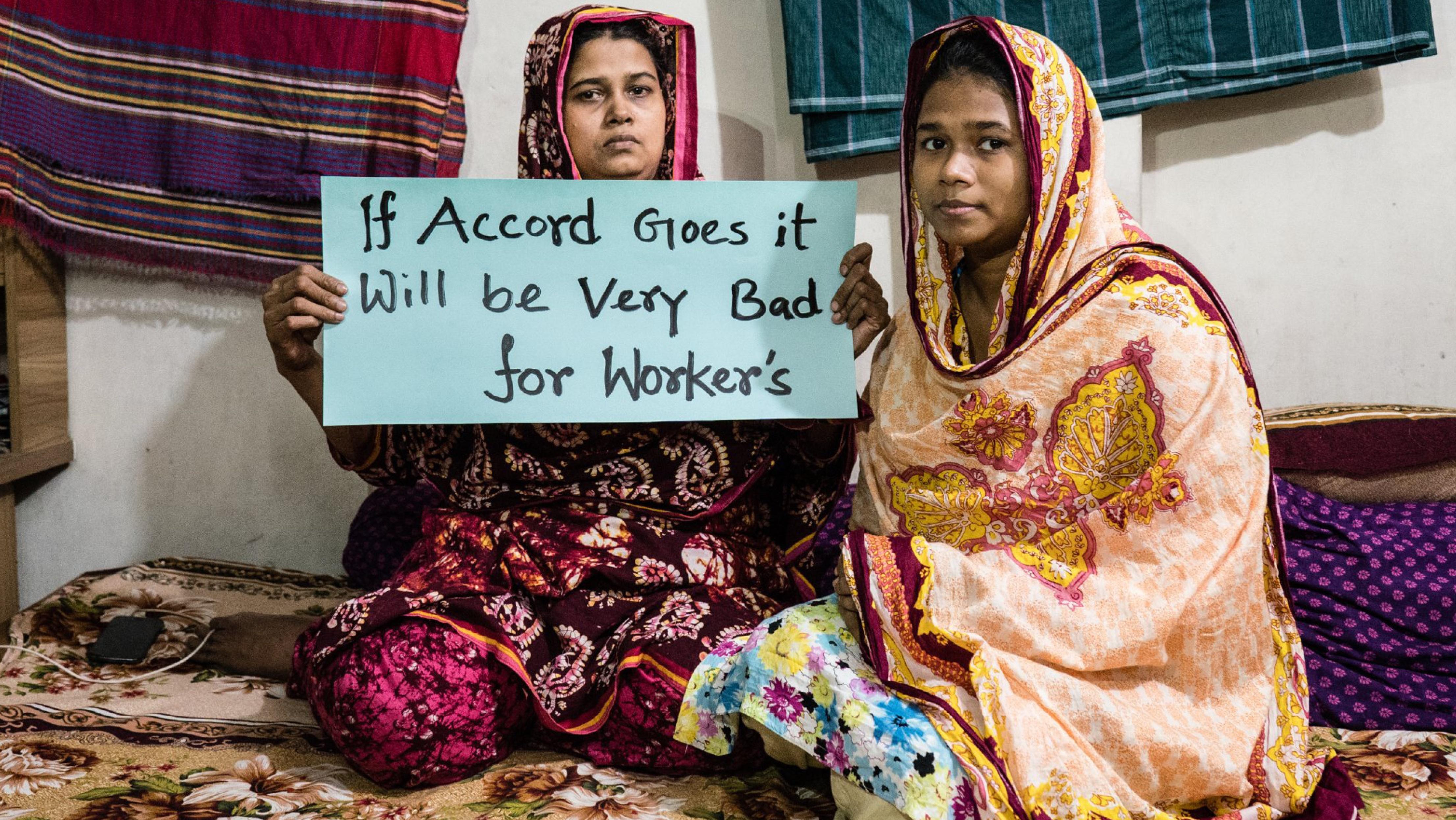 Solidaridad con las trabajadoras del textil en Bangladesh