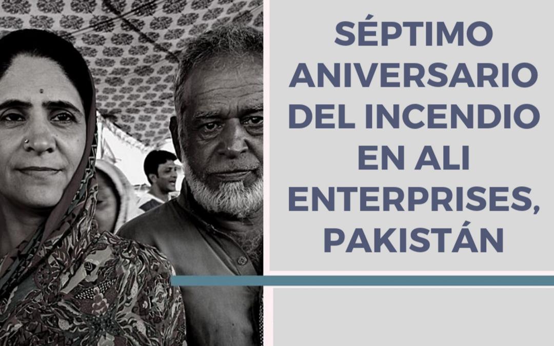Pakistán, siete años después. Las fábricas textiles siguen siendo inseguras