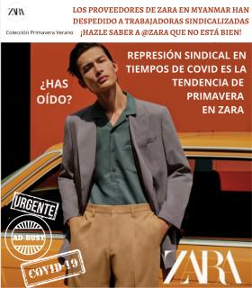 trabajadoras de Zara despedidas por su actividad sindical
