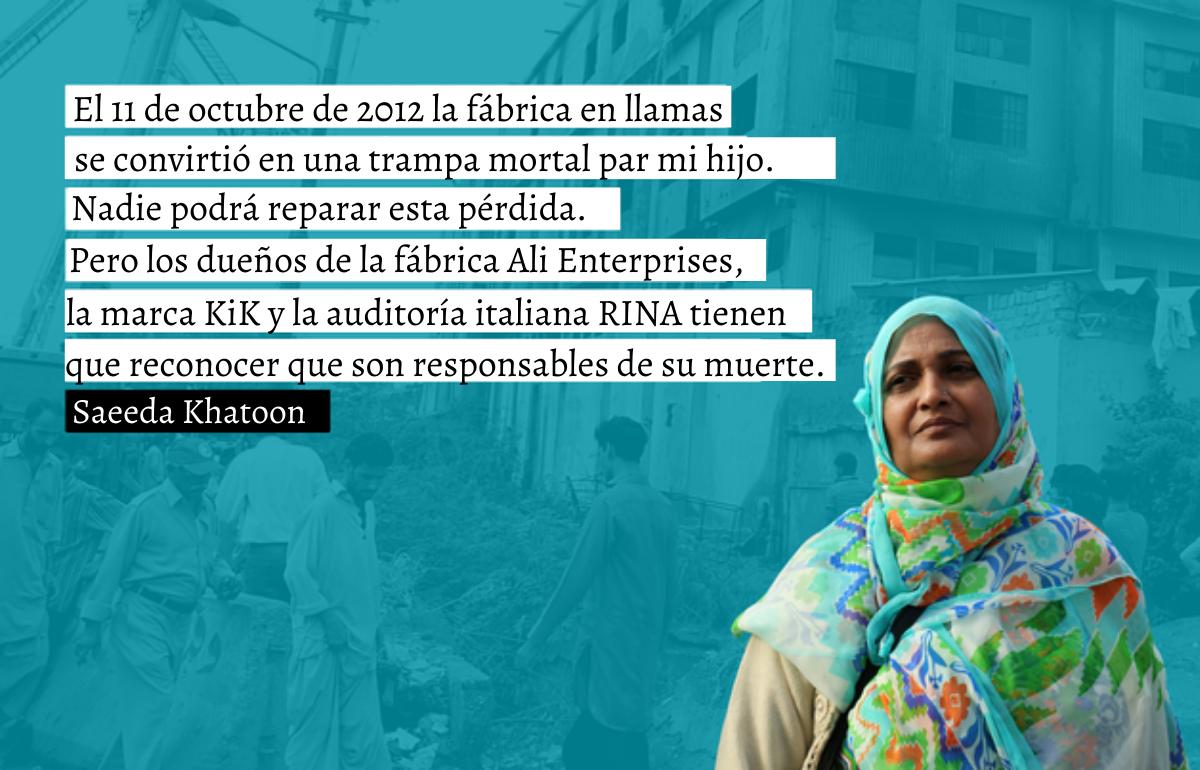 Las familias de las víctimas del incendio de Ali Enterprises siguen esperando que se haga justicia