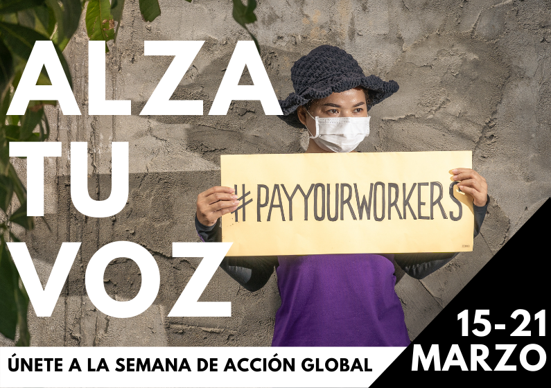 Semana de Acción Global #PayYourWorkers