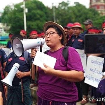 Exigimos la inmediata puesta en libertad de la activista Myo Myo Aye en Myanmar