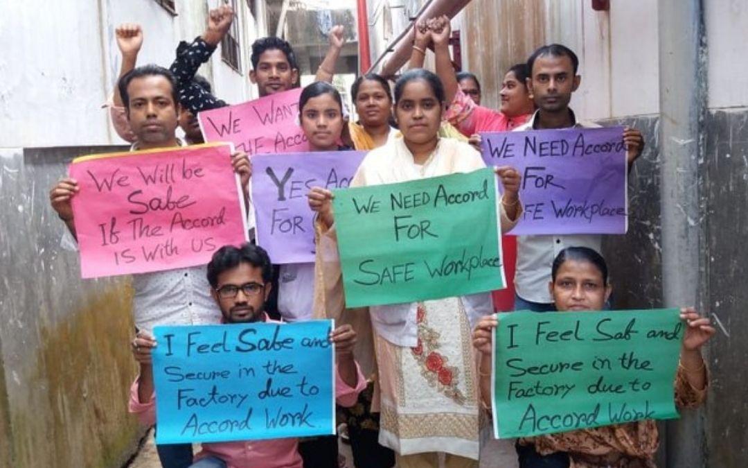 ¿Qué marcas de moda no han dado aún un paso para proteger a quienes fabrican su ropa en Bangladesh?