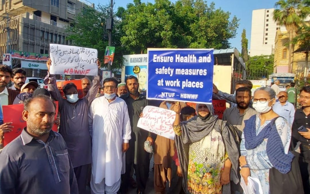 En el aniversario del incendio de Ali Enterprises, activistas exigen medidas urgentes en defensa de la seguridad