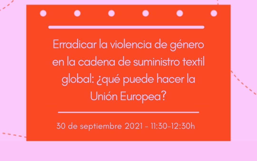 El papel de la Unión Europea para acabar con la violencia de género en la industria textil