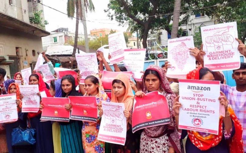 Día de acción internacional en apoyo a las trabajadoras de Global Garments (Bangladesh)